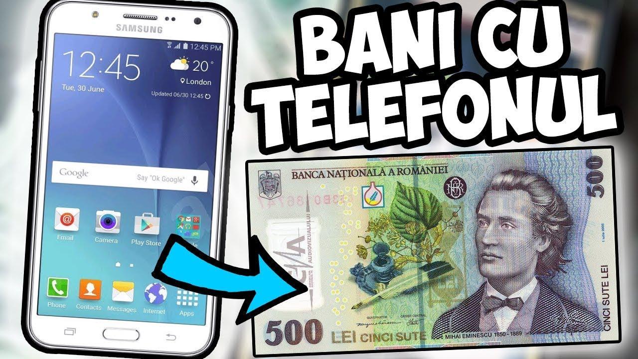 Make money online: Cum faci bani $ cu telefonul tau mobil IOS/Android din aplicatii pas cu pas