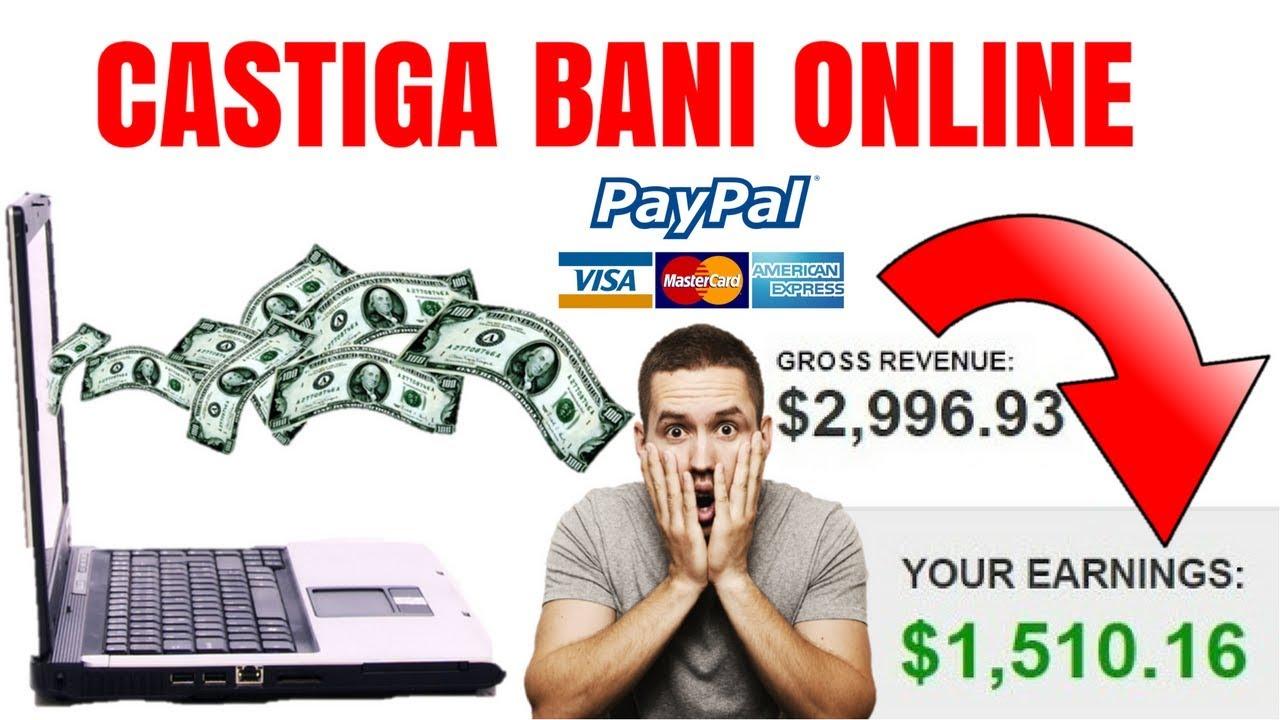 modalitate de a câștiga bani reali pe internet