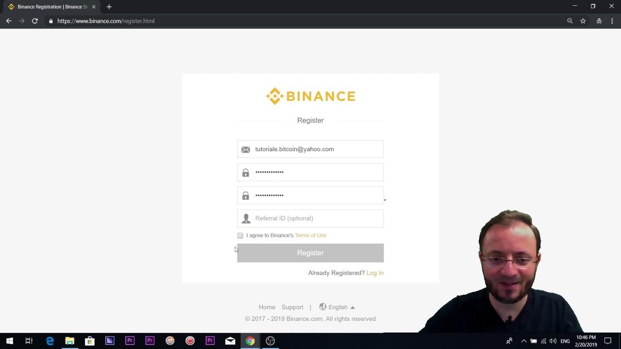 cum să cumperi bitcoin pe binance