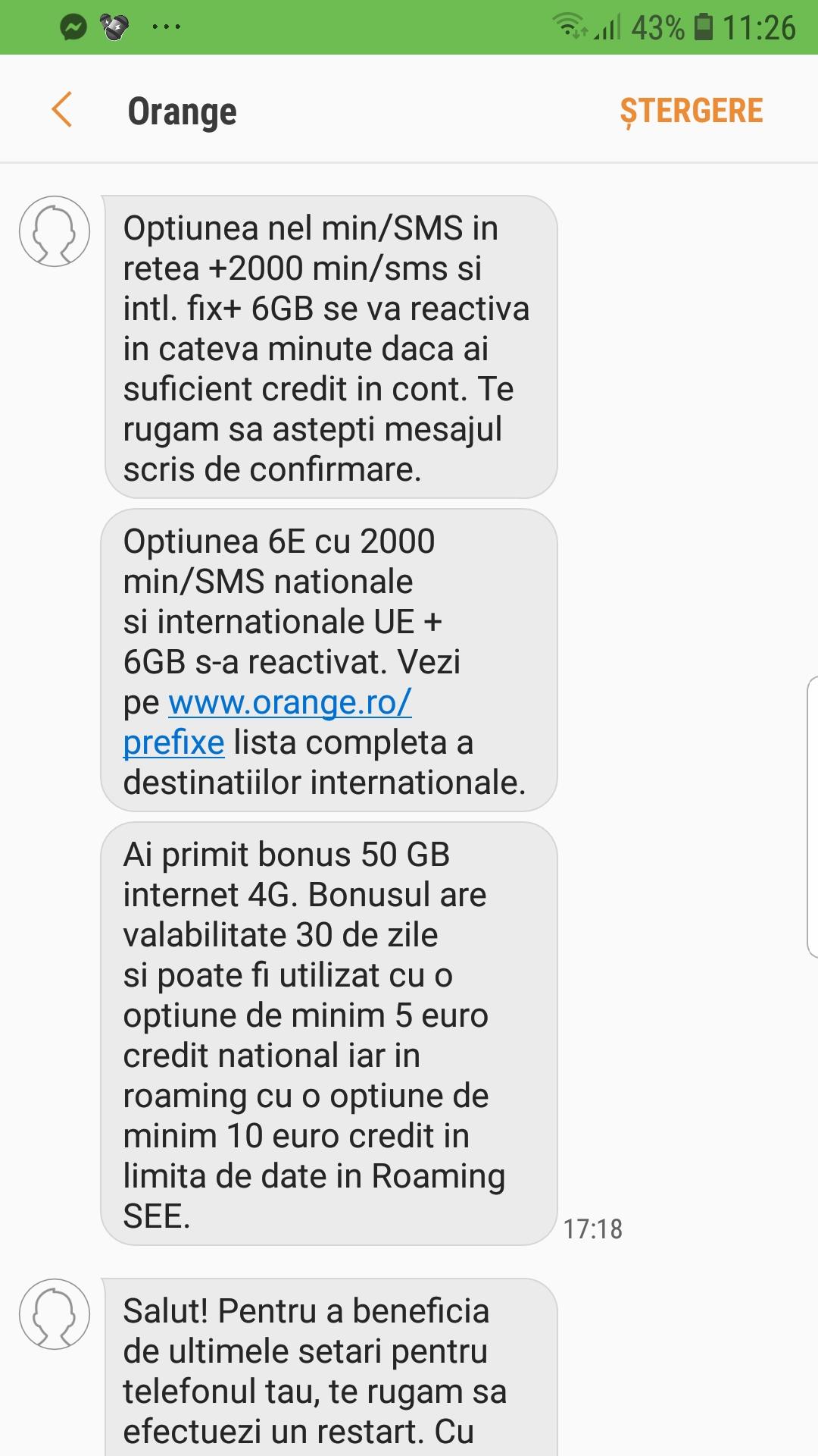 Orange ofera bonus dublu net si 10% credit inapoi - Blog Media Max