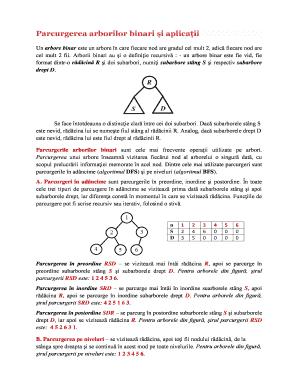 triunghi în binar