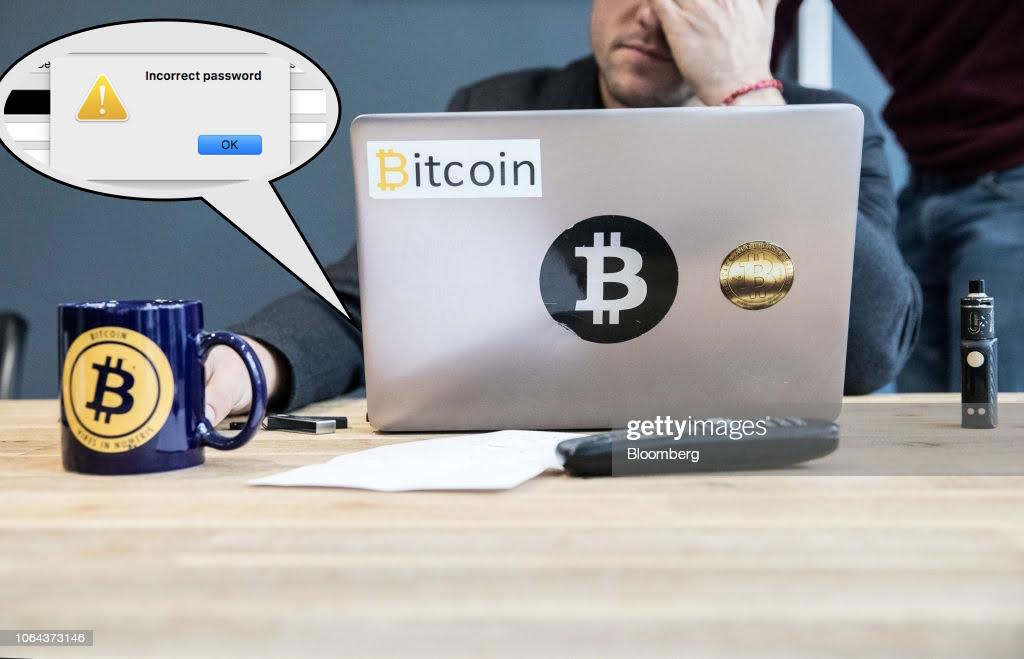 Am vorbit cu oamenii care și-au pierdut parolele la bitcoin și mii de lire