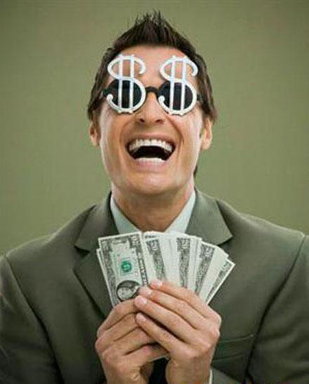 o persoană care vă va ajuta să câștigați bani