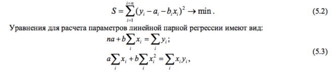Exemplu de ecuație liniară a statisticilor tendințelor. Construirea unui trend liniar