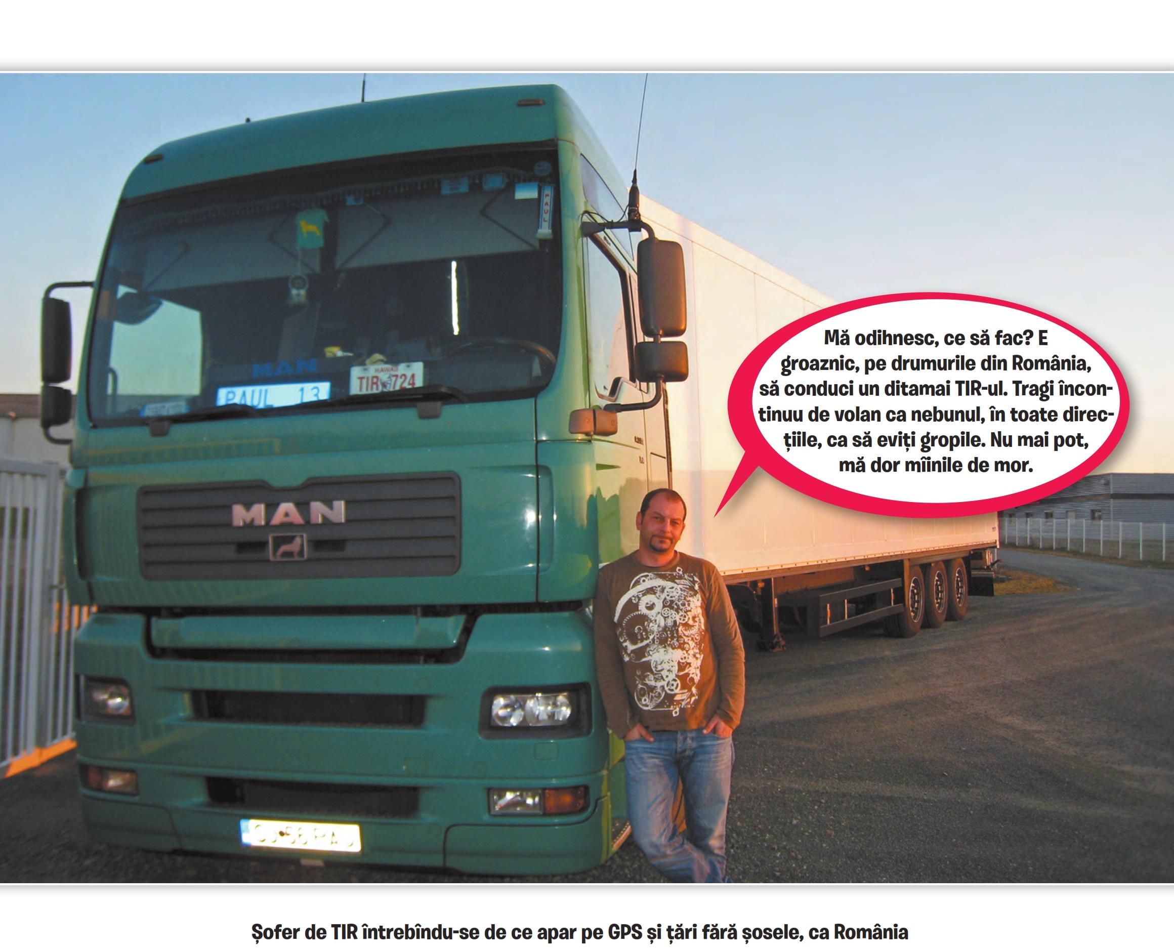 poți câștiga bani cu un camion