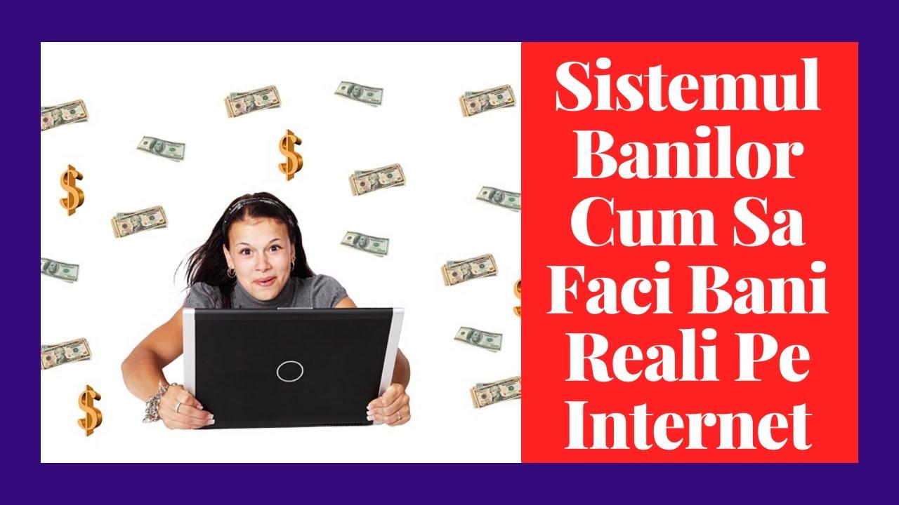 cum să faci bani reali pe internet