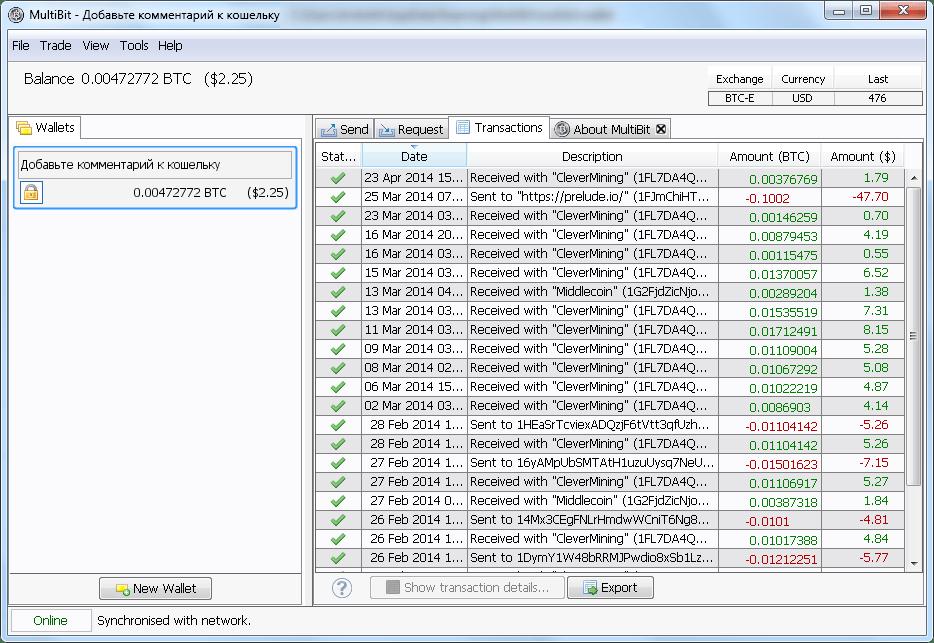 oficial de înregistrare portofel bitcoin