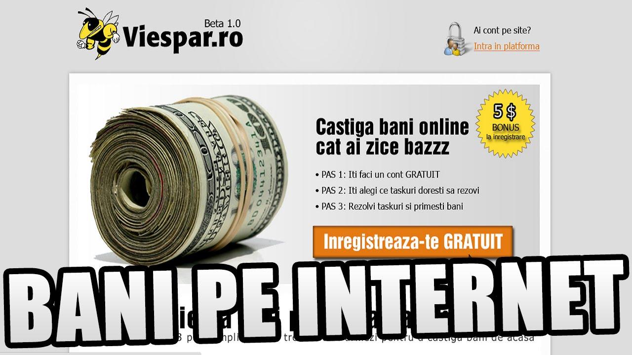 cum să faci bani pe internet 5 câștigați autentificare online