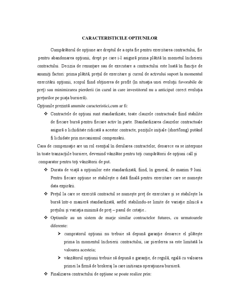 Produsele Financiare Derivate