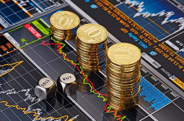 graficul creșterii și căderii Bitcoin