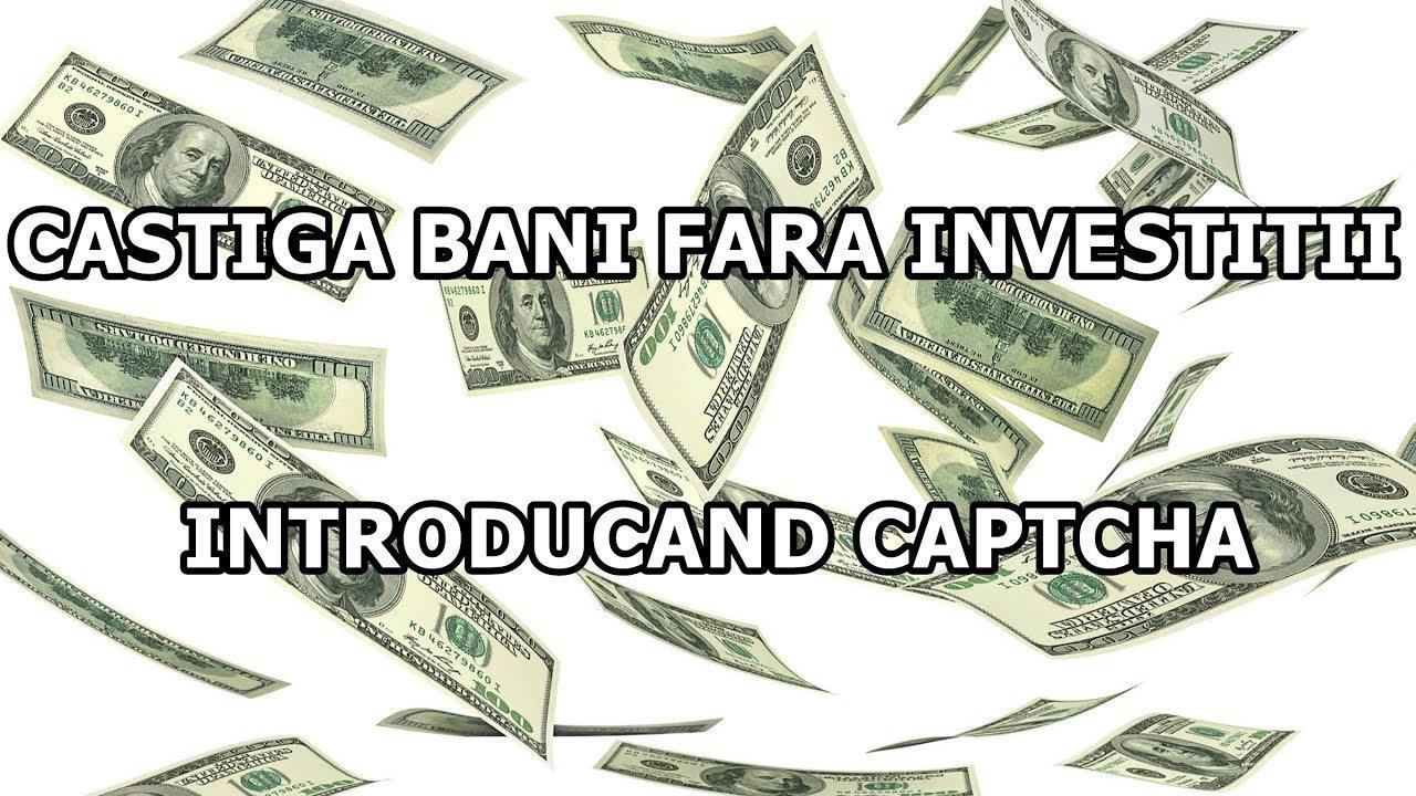 câștigând bani pe internet fără a investi 1