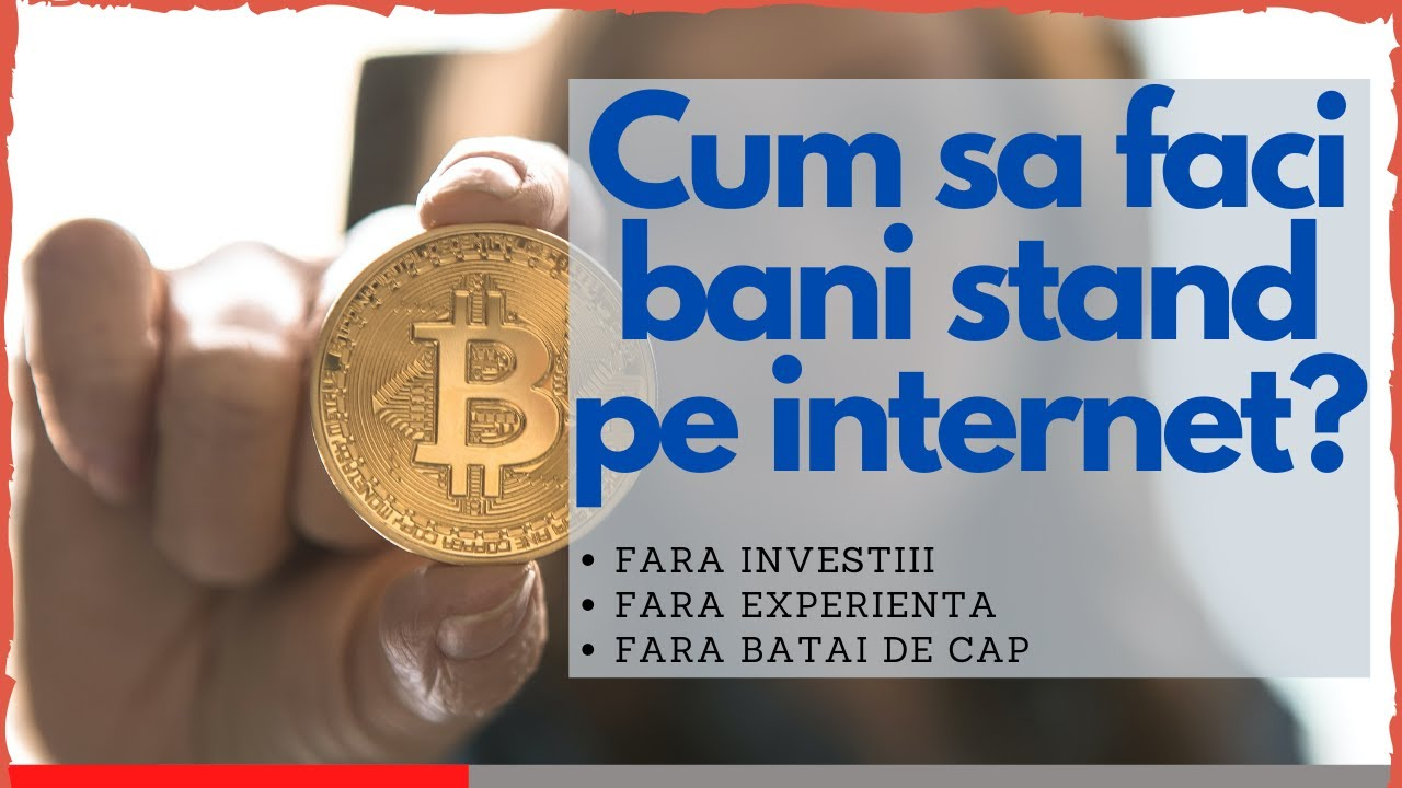 metode unice de a face bani pe internet opțiuni binare de știri financiare