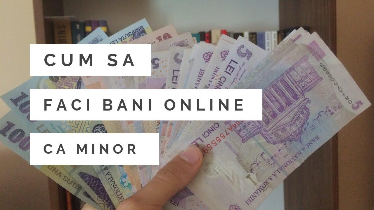Vreau să câștig bani pe Internet ce să fac