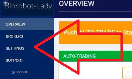 Binare auto opțiuni comerciant