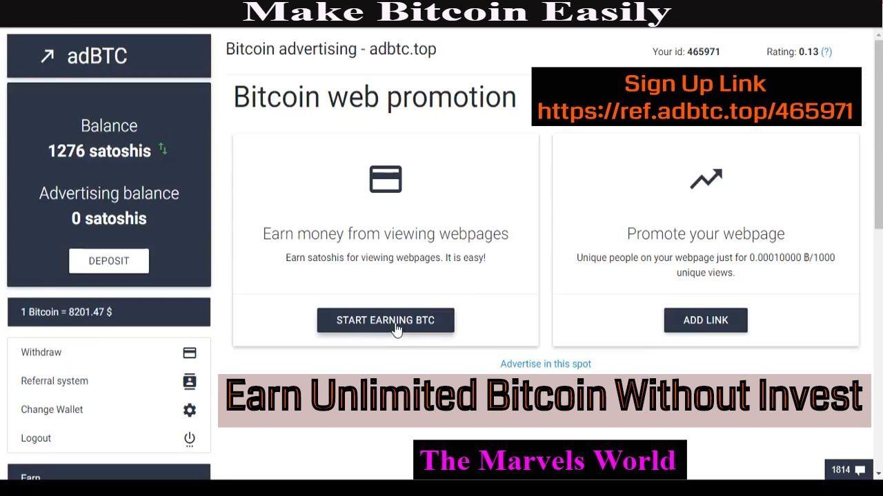 adbtc bitcoin de unde să ia Bitcoin cache adresa